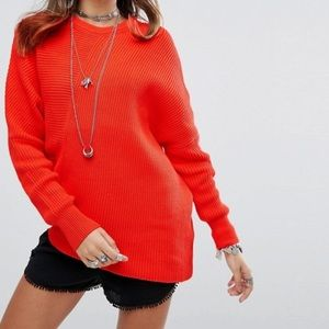 Free People Downtown Crew Neck Sweater
